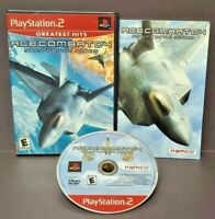 Ace Combat 4 Shattered Skies  Playstation 2 PS2 Game Complete Tested + Working