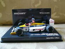 Williams Honda FW11, Minichamps 410860106, Rosberg/Piquet Taxi, German GP 1986