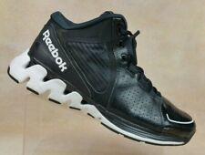 Reebok Zigtech Black Mid-top Basketball Shoes V47016 Mens US 11 / EUR 44.5