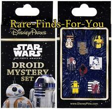"""Disney Parks Star Wars """"Droids"""" 2-Pin Mystery Box Set Booster Pack (NEW/SEALED)"""