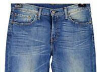 Levi's 511 Herren Jeans Gr W33 L32 Blau Baumwolle Casual XJ47
