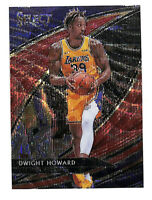 2019-20 Panini Select #216 Dwight Howard Courtside RED WAVE card Lakers