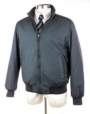 NWOT $1395 PAUL & SHARK Yachting Reversible Navy & Brown Puffer Jacket Coat XL