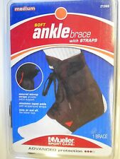 NOS Mueller Sports Ankle Brace Medium Size 9-11 Men Lace-up Quality Orig Package