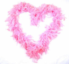 Pink Boas, Scarves and Garlands