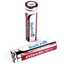 10 x qulit Fire 4500 mah 9,6 WH de iones de litio Batería 3,7 V tipo 18650 Battery Pack