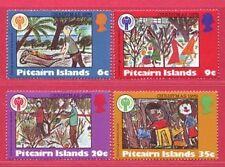 Pitcairn Islands 1979 International Year of the Child Christmas Set UM