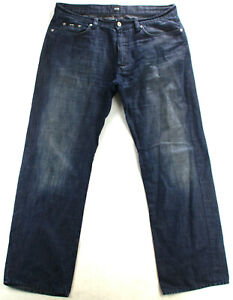 Hugo Boss Hose Jeanshose Blau Gr. W 36 L 32