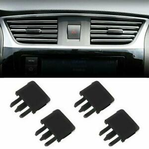 2/4Pcs Car Auto Air Conditioning Vent Louvre Blade Slice Clip For Toyota Corolla
