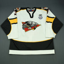 2012-13 Charles-Olivier Roussel Cincinnati Cyclones Game Used Worn Hockey Jersey