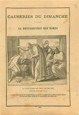 ARTICLE COMPLET 20s Resurrection des Morts Saint Homme Job Bible biblical figure
