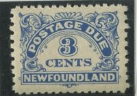 Newfoundland Stamps #J3 MINT,NH,F-VF (G7748N)