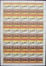 1840 GWR FIREFLY (Fire Fly) Class Train 50-Stamp Sheet (Leaders of the World)