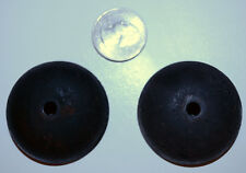 "Antique 1914 Western Electric Telephone Top Bells Ringers 1.75"" Diameter"