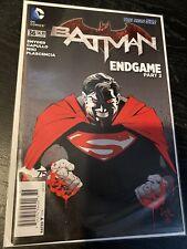 Batman: New 52 #36 Scott Snyder & Greg Capullo Endgame Batman V Superman Variant