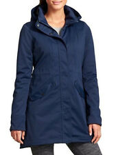 Athleta L Dress Blue Chills Parka Coat 12 14 L