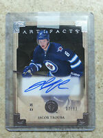 13-14 UD Artifacts RC Rookie Autographs #VIII JACOB TROUBA /99