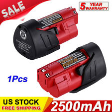 For Milwaukee 48-11-2401 M12 Li-Ion Lithium 12V 12 Volt 3500mAh Battery Pack US