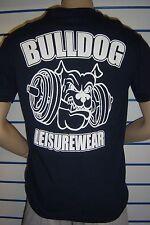 BULLDOG stampato Gildan Cotone Pesante Nero T-Shirt: XXX-Large