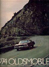 OLDSMOBILE OMEGA Cuttlery Delta 88 98 TORONADO 1974 USA delle vendite sul mercato opuscolo