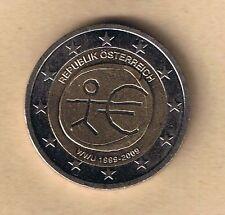 Unzirkulierte Einzelstück Österreichische Münzen nach Euro-Einführung mit Bi-Metall