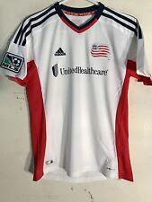 Adidas Youth MLS Jersey New England Revolution White sz S