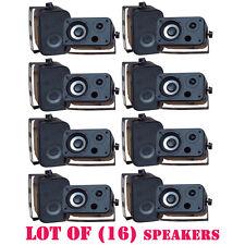 Lot of (16) PyleHome PDWR30B 3.5'' Indoor/Outdoor Waterproof Speakers (Black)