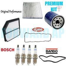 2006-2007 Honda Civic 1.8L PREMIUM Tune Up Kit Cabin Air Oil Filters Belt Plugs