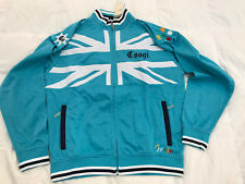 Authentic COOGI Track Jacket Mens Top Zipped Teal Blue Size Large