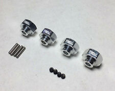 Treal Hex Wheel Hex Pins 4P For 1/10 Axial Wraith RC Upgrade Part Alum Silver