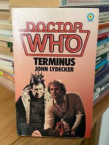 doctor who target book -  TERMINUS -  1st edition