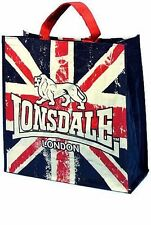 Lonsdale London Union Jack Shopping Bag PP Woven Bag Mehrzwecktasche Tasche