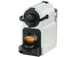 Cafetera de cápsulas - Nespresso® Krups INISSIA XN1001,19 bares, 1260 W, Blanco
