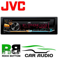 JVC KD-R981BT Bluetooth CD MP3 Front Aux USB iPhone iPod Car Stereo Radio Player