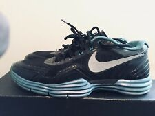 2012 Mens Nike Lunar TR1 Sport Pack Blue Glow Black Size 9 Used Rare NDS