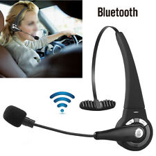 Wireless Headset Truck Driver Noise Cancelling Bluetooth Handsfree Headphones