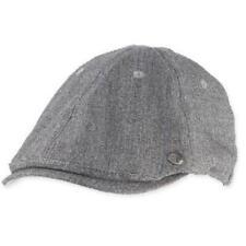 Perry Ellis Driver's Suiting Hat,Cap,NWT,Adjustable Closure,Grey,Cotton