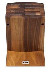 KAI DM-0810 Messerblock Walnuss Holz zerlegbar für 8 Japan Messer unbestückt