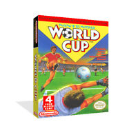 - Nintendo World Cup NES Replacement Game Case Box + Cover Art Work Only