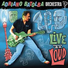 """Adriano batolba Orchestra-Live 'N' Loud - 2013 10"""" Clear blue vinilo LP nuevo"""