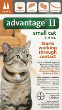 Advantage II Flea Control for Small Cat 5-9 lbs. 2 Month Supply