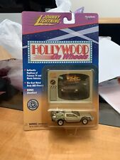 Johnny Lightning Hollywood on Wheels Back to the Future DeLorean 1:64