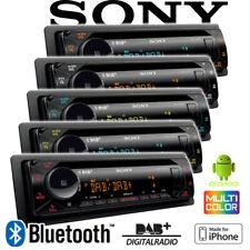 Sony MEX-N7300BD Bluetooth DAB+ CD MP3 USB MultiColor iPhone - Android Autoradio
