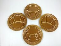Set of 4 KG LUNEVILLE Louis XV France Honey Grill Plate Divided France Vintage