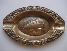 SCARCE C1930S VINTAGE KSNM DUTCH LINE S.S.COSTA RICA SOUVENIR ASHTRAY