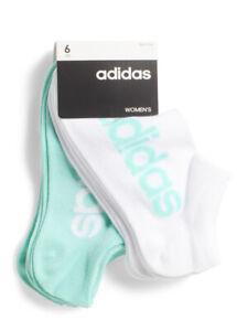 Adidas Women No Shoe Socks 6 Pack