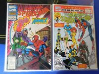 LOT 2x THE AMAZING SPIDER-MAN ANNUALS MARVEL COMICS -issues 26,27 ~ VF/NM cond