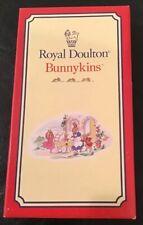 Royal Doulton Bunnykins Silverplate Birthday Candle Holder Set of 6 Reed Barton