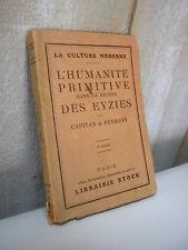 Capitan & Peyrony : L'humanité primitive dans la région des Eyzies 1924