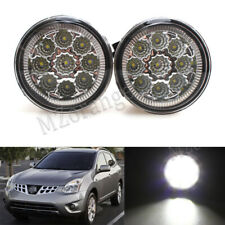 2X 9LED Front Fog Light Lamps For Nissan Rouge Juke 2011-14 Murano Replacement